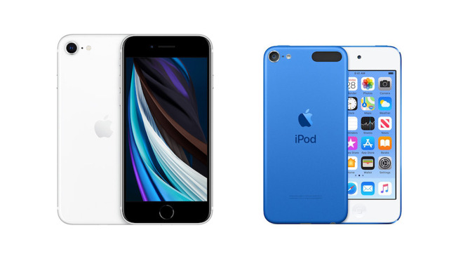 The iPhone SE and iPod touch are both iOS-based devices with similar price points. But that's about the extent of their similarities.