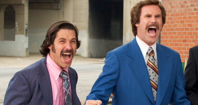 Paul Rudd and Will Ferrell, seen here in