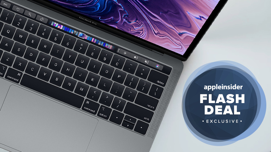 Apple 13 inch MacBook Pro deal on model with 16GB RAM
