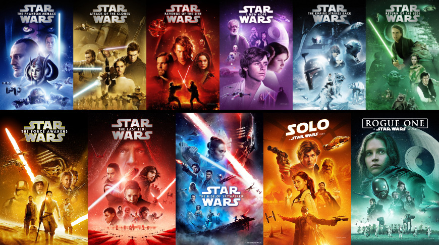 All Star Wars movies are on sale for the May the Fourth celebration