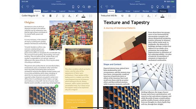Microsoft testa il supporto iPadOS multi-finestra per Word e PowerPoint