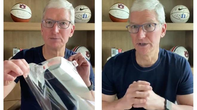 Tim Cook delinea la risposta COVID-19 di Apple e gli sforzi di aiuto