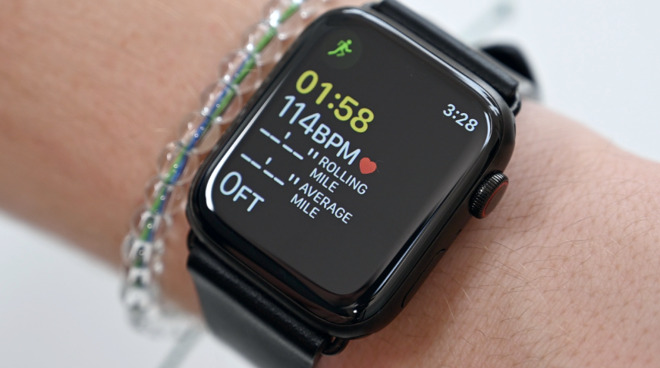Apple's current Series 5 Apple Watch