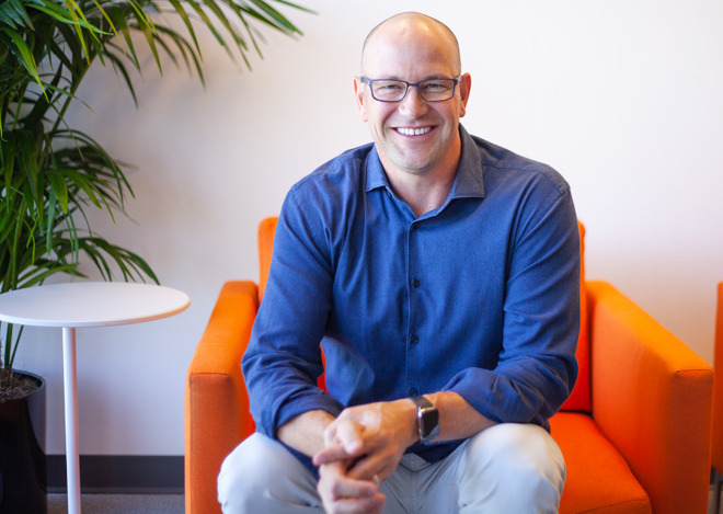 Claris CEO Brad Freitag
