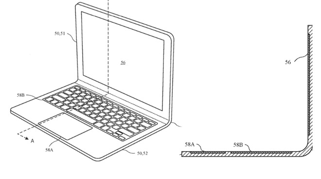 It could open up like a regular MacBook Pro, but this potential future design would include a bendable hinge