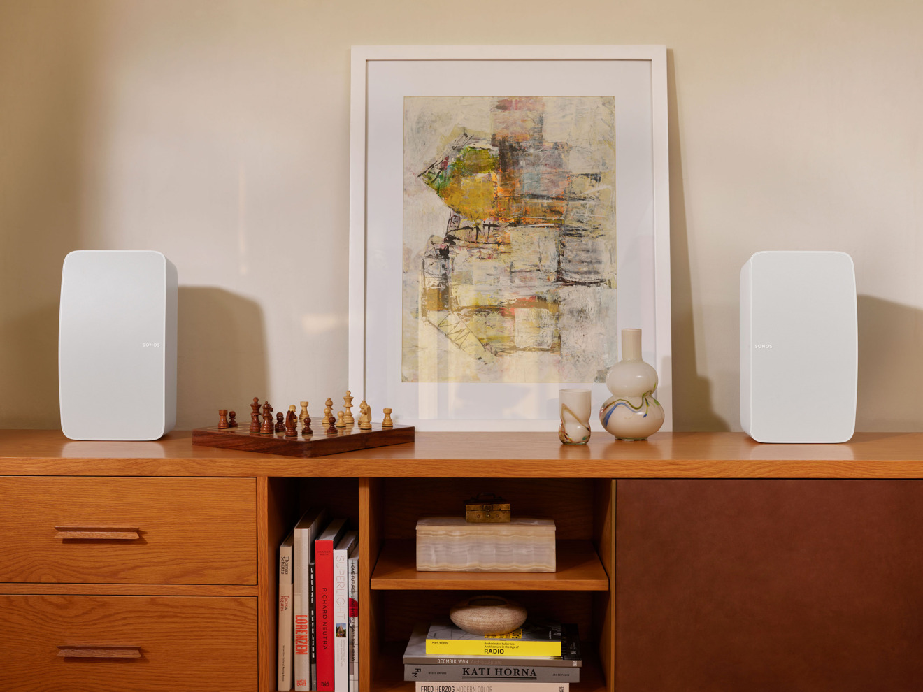 The new Sonos Five in all white