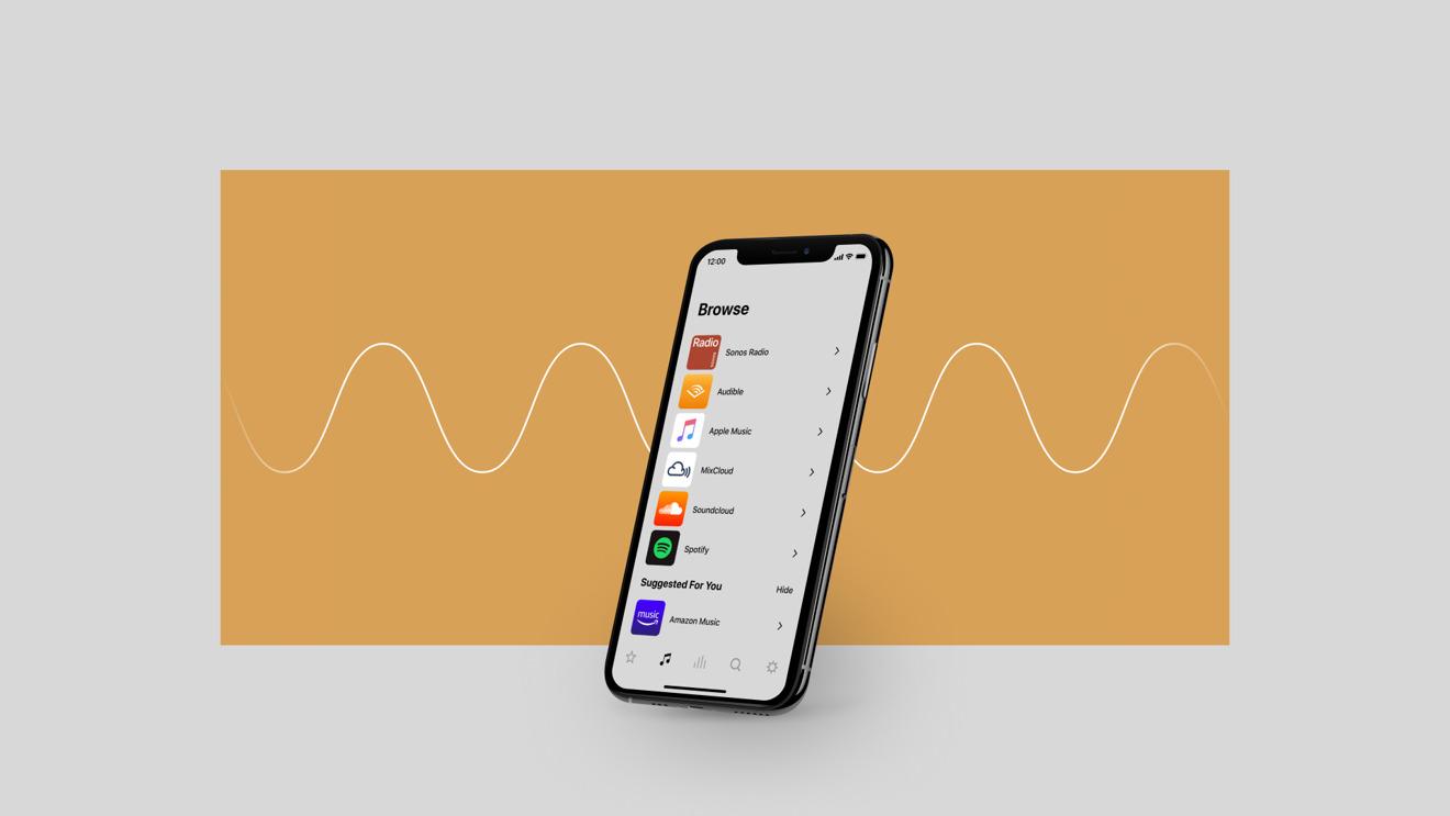 Updated Sonos app