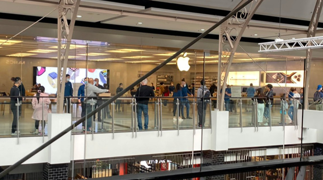 Apple Stores have reopened in Australia (Source: Twitter)
