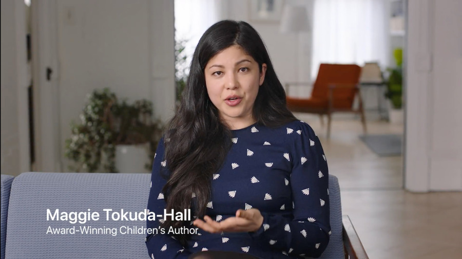 Maggie Tokuda-Hall is one of currently four authors giving advice on the new service