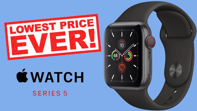 "$ 100 di sconto su Apple Watch Series 5, iPod touch da $ 95, 16 ""MacBook Pro $ 2,024"
