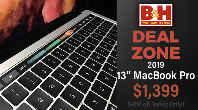 Image of article 'Today only: $400 off a 2.4GHz 13-inch MacBook Pro'