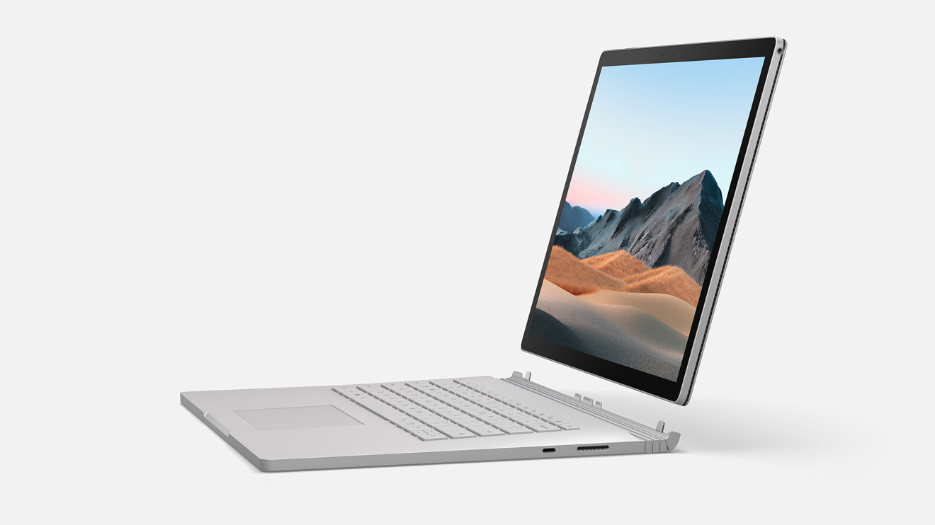 Microsoft keeps the card reader on the keyboard section