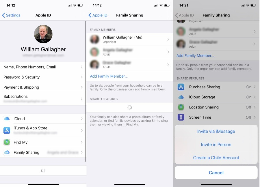 You can have up to six family members sharing Apple News+
