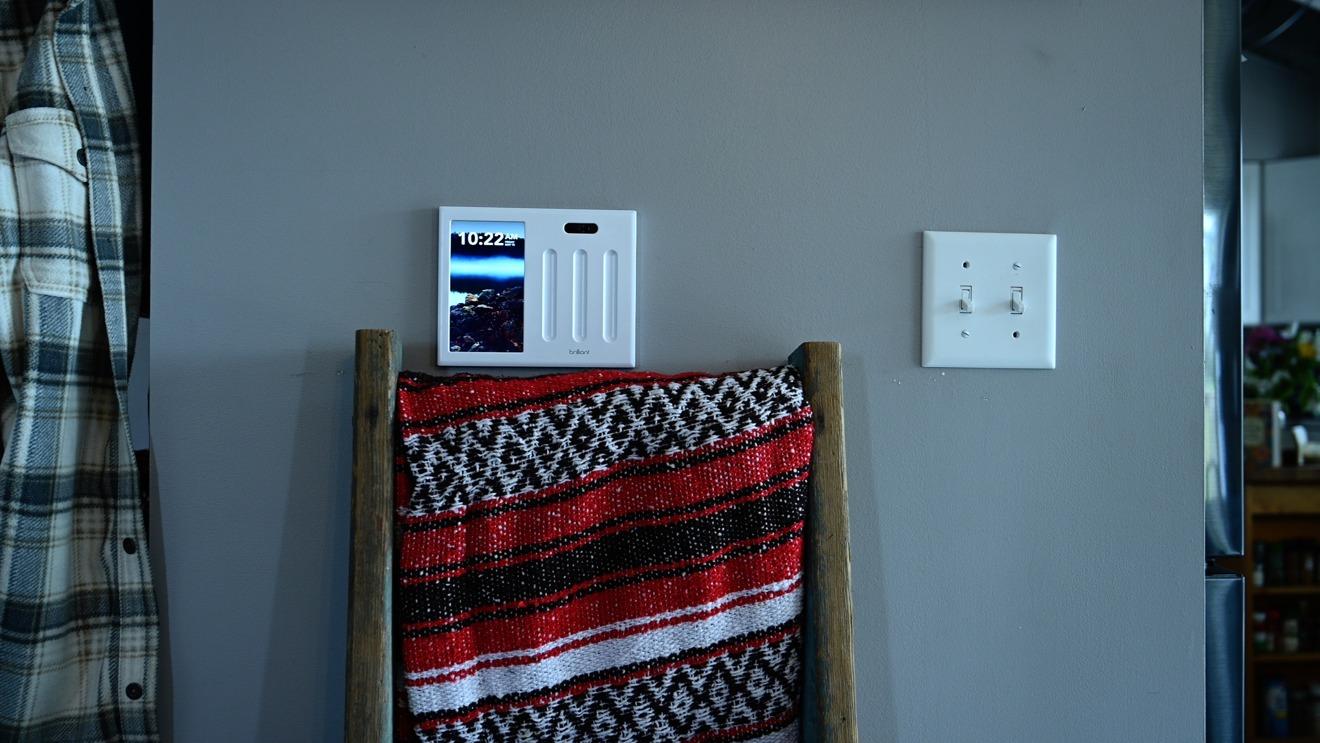 Brilliant smart home control panel
