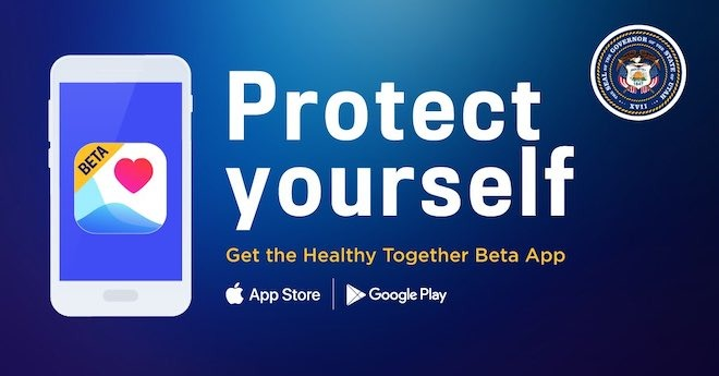 Utah's Healthy Together app is currently in beta, but it doesn't use the Apple-Google Exposure Notification API.
