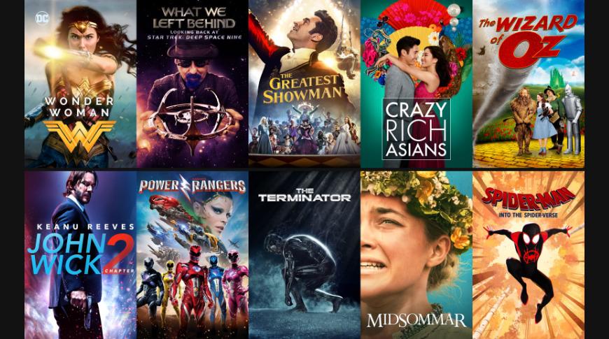 Films avec d'excellents extras iTunes