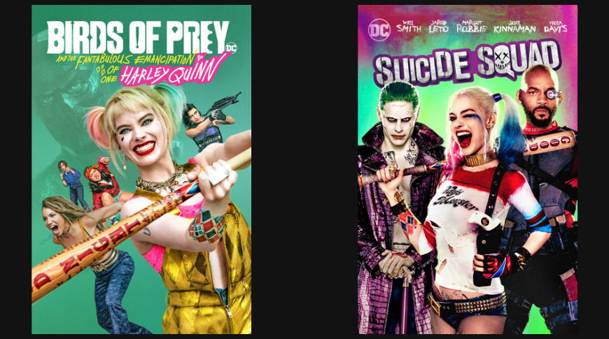 Birds of Prey and Suicide Squad