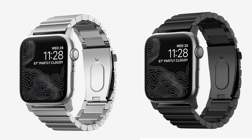 Nomad Steel Band for Apple Watch