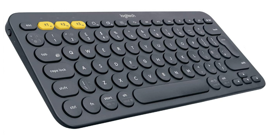 The Logitech K380 isn't the fanciest keyboard around, but it reliably gets the job done