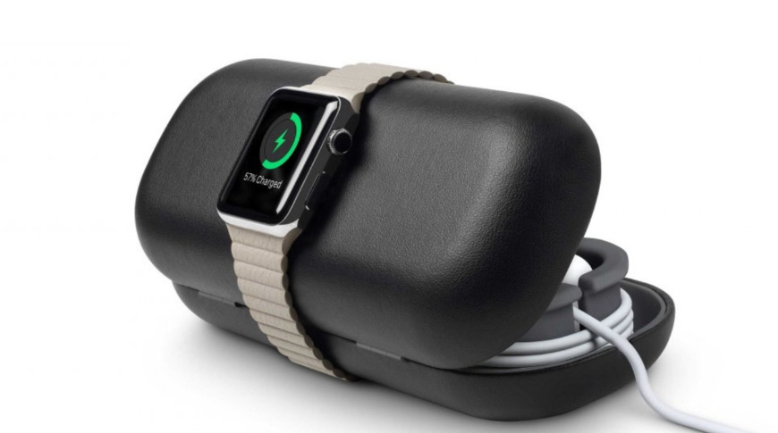 The TimePorter is a great travel companion for the Apple Watch