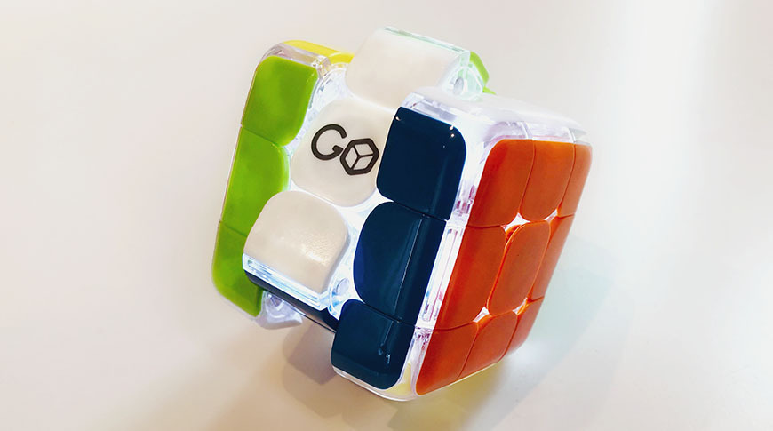 The GoCube is an absolute joy to hold and play with, with an extremely fluid movement and near-silent operation.