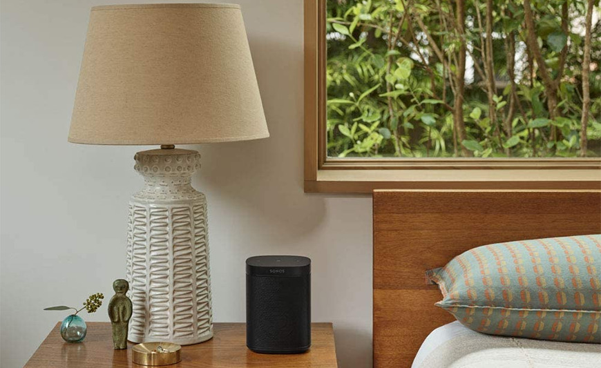 The Sonos One SL is compatible with AirPlay 2 and HomeKit