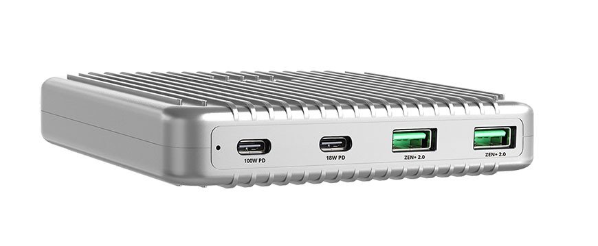 The Zendure SuperPort 4 allows you to charge multiple devices simultaneously