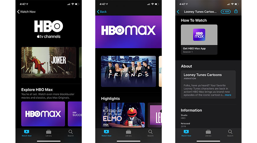 HBO pulls Apple TV Channels integration following HBO Max debut