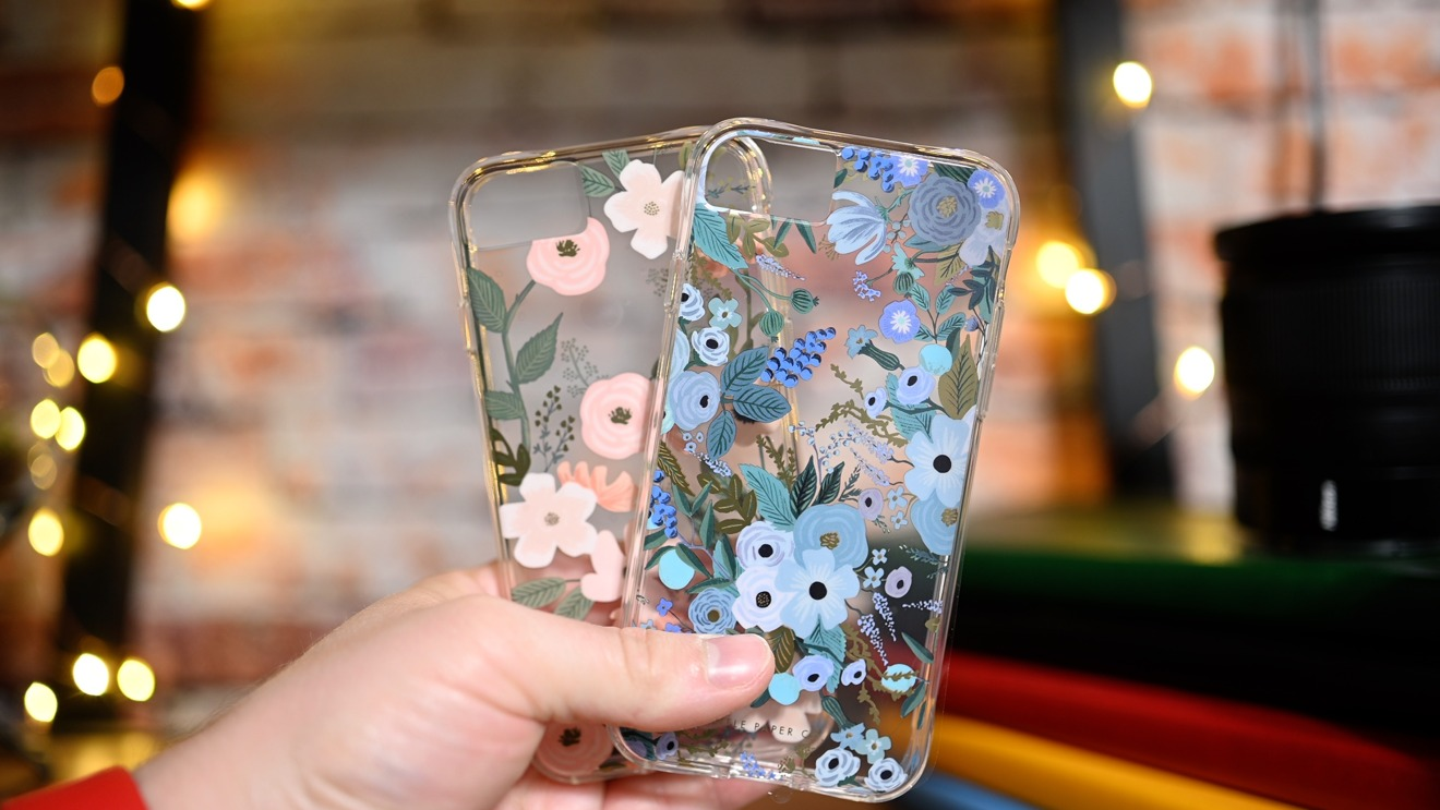 Rifle Paper Co iPhone SE cases
