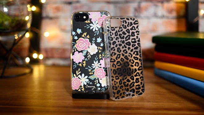 The Casery floral iPhone SE cases