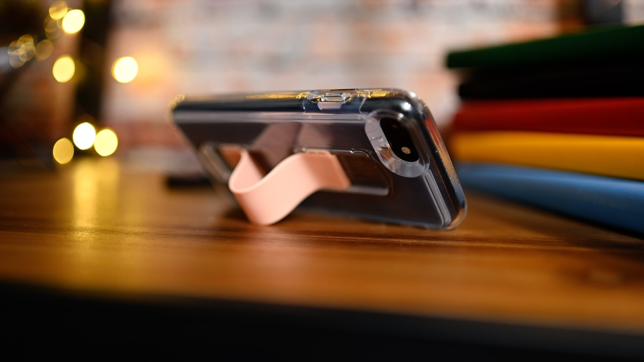 SlideVue loop can also be used as a kickstand