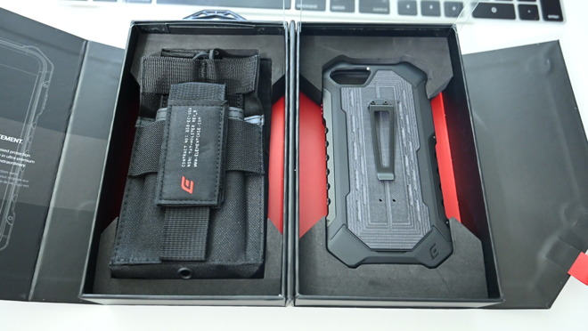 Element Case Black Ops box with case and pouch