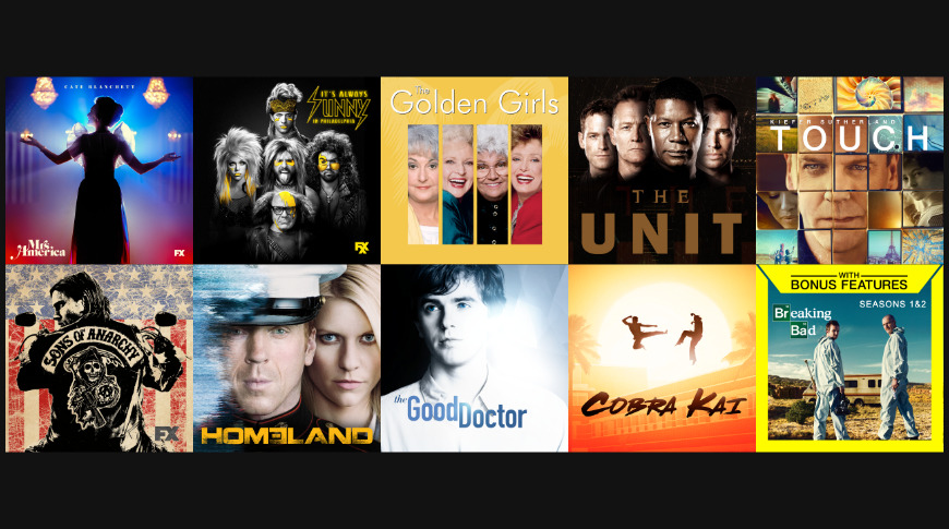 TV Seasons under $10