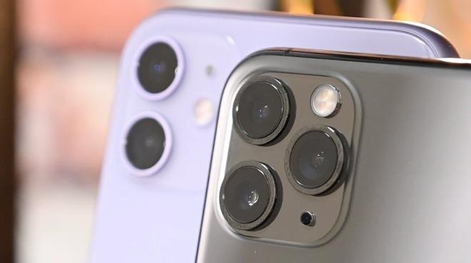 iPhone 11, iPhone 11 Pro cameras.