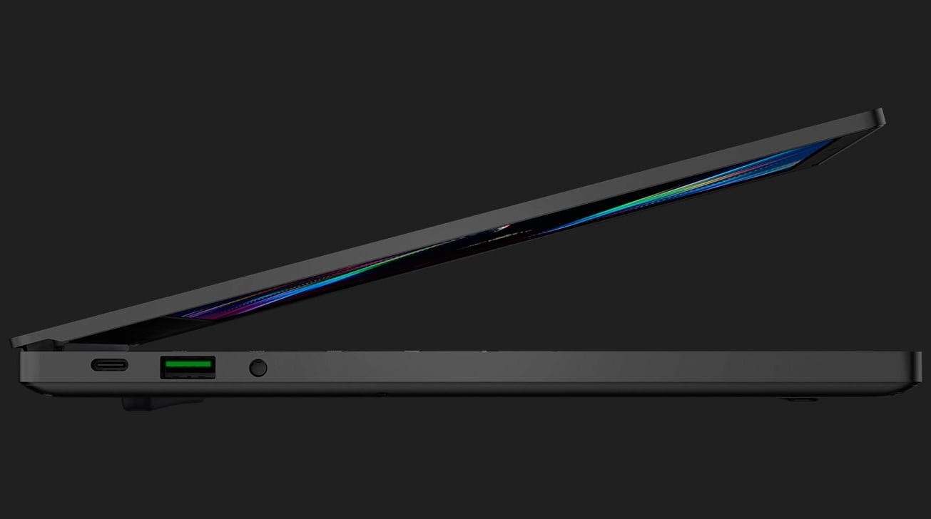 The Razer Blade Stealth 13 is practically the same size as the 13-inch MacBook Pro