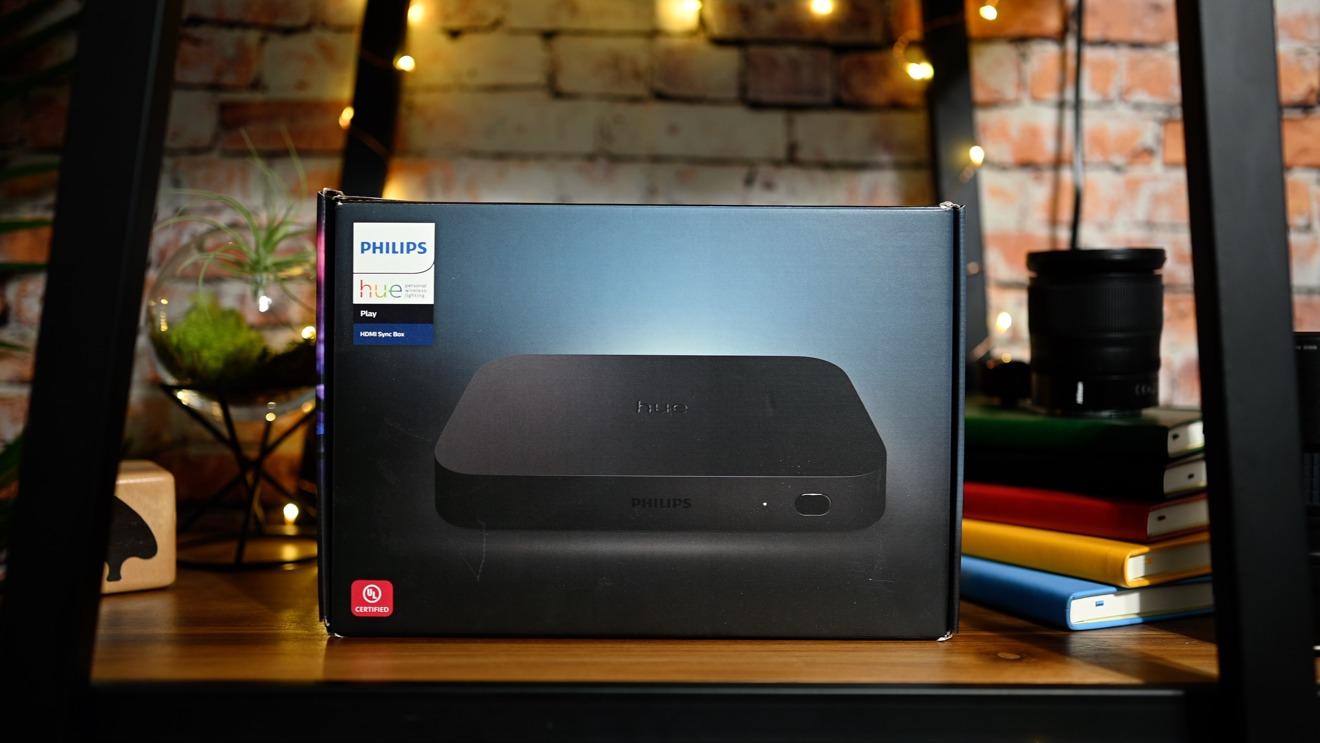 Hue HDMI Sync box packaging