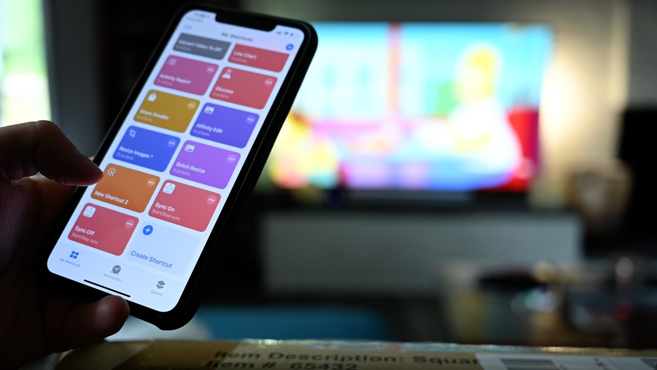 Stopping light sync with Siri Shortcuts