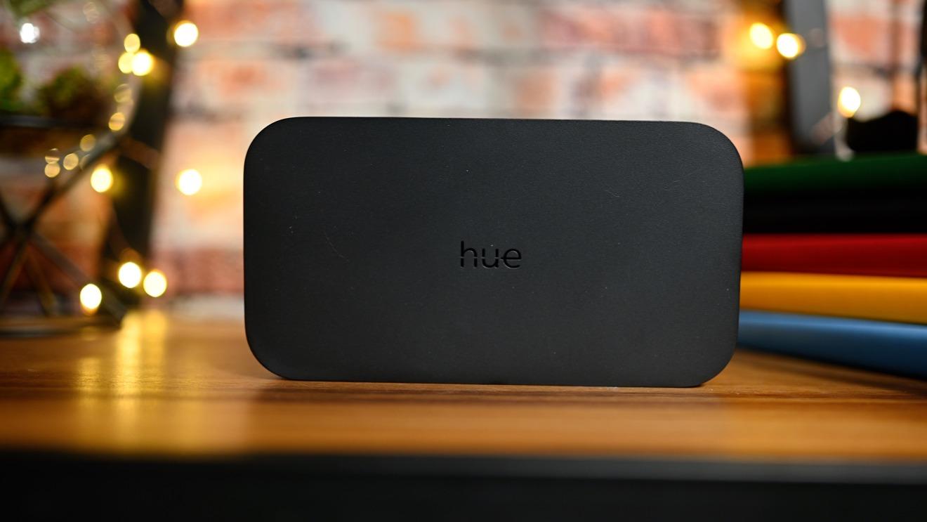 The Hue HDMI Sync box
