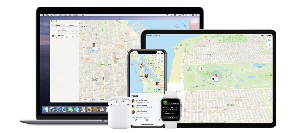 Apple AirTags would be integrated into Find My