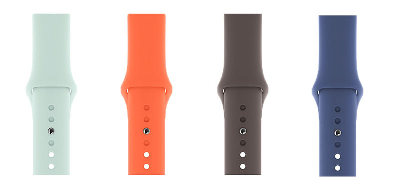 Apple debuts Apple Watch Sport Bands, iPhone Silicone Cases in summer colors | AppleInsider
