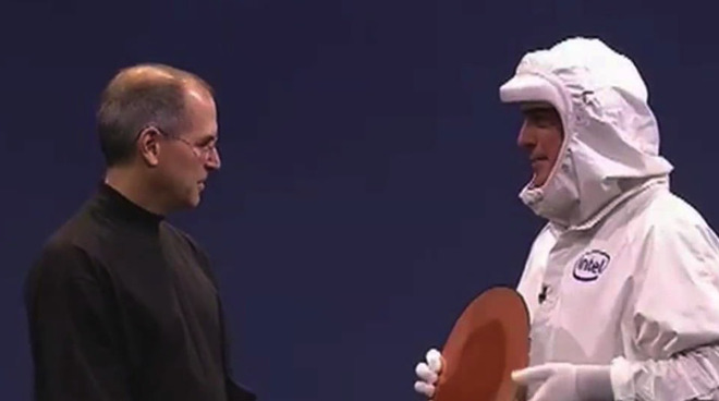 Steve Jobs welcomes Intel to the Mac in 2005