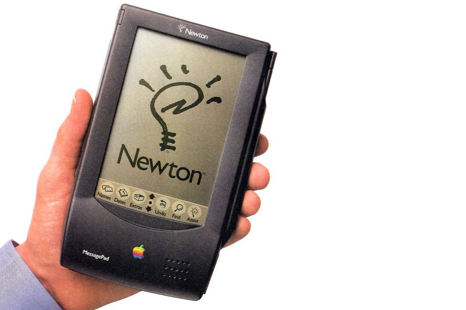 The Newton MessagePad was Apple's first ARM-powered device