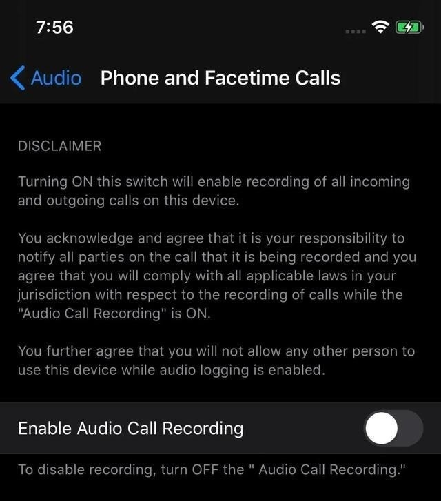 The alleged leaked image of the settings interface. Credit: ITHome