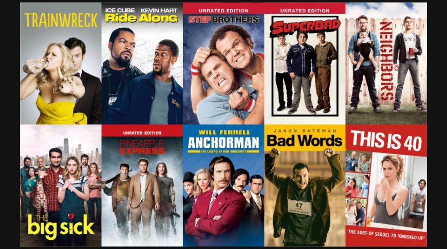 Judd Apatow movies on sale