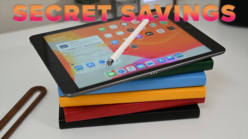 Amazon issues secret iPad coupon