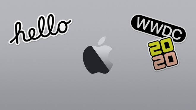 Apple imagery for WWDC 2020
