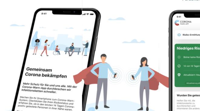 Detail from the German App Store description