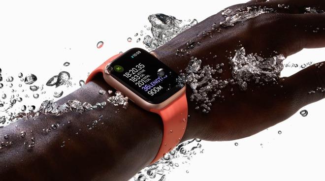 Apple Watch underwater