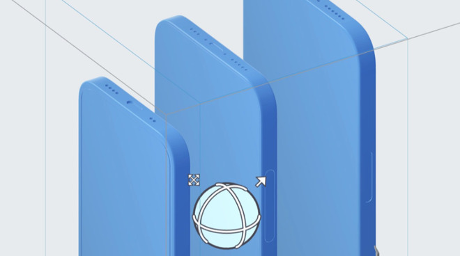 Detail from the purported recent CAD designs
