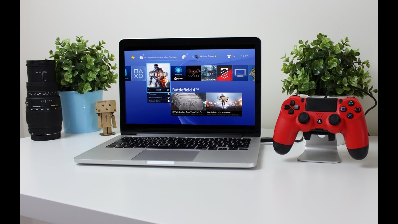 PS4 Remote Play lets you access your PlayStation titles on your Mac. Image via Copper vs Glass